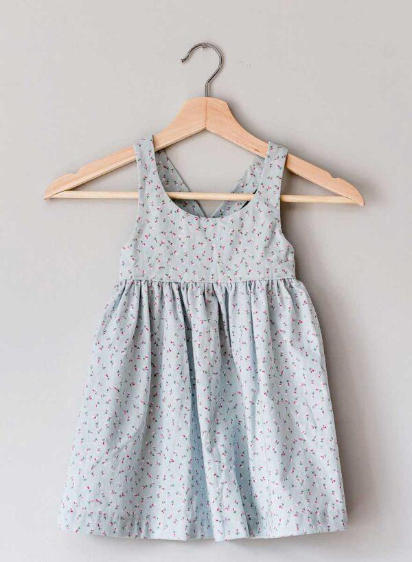 The Charlie Dress, vintage blue