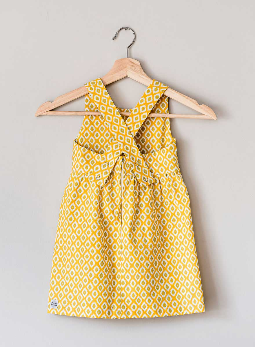 The Charlie Dress, 70s yellow