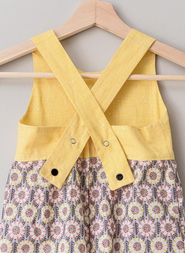 The Charlie Jumper, yellow and sunflower
